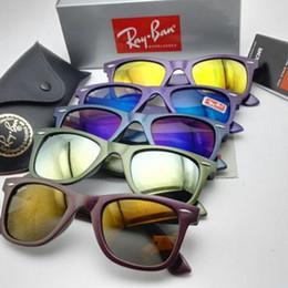 a02ec2edac 2019 Brand Designer Polarized Men women 2140 Sunglasses Gafas de sol sin  montura Gafas de conducción Lentes polarizadas con estuche marrón y  accesorios