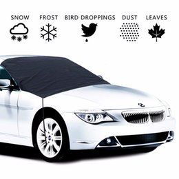 $enCountryForm.capitalKeyWord Australia - Universal Auto Winter Snow Anti-Frost Front Glass Sunshade Sun Protection Semi-Car Clothing Car Cover Parasol Windowshield