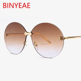 $enCountryForm.capitalKeyWord Australia - Aviation Round female glasses luxury vintage big round sunglasses women Large oversized sun glasses men brand tinted brown glass