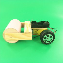 boys science toys UK - Homemade Roller DIY Technology Small Production Science Experiment Manual Material Package Intelligent Assembling Toys