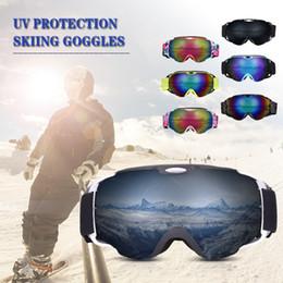 Goggle Ski Anti Uv Australia - OGT Ski Goggles Double Layers Anti-fog UV Protection Skiing Goggles Men Women Snow Snowboard