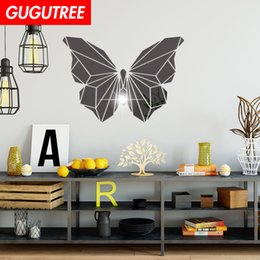$enCountryForm.capitalKeyWord Australia - Decorate Home 3D buttlefly cartoon mirror art wall sticker decoration Decals mural painting Removable Decor Wallpaper G-405