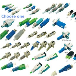 optic fiber cable connector NZ - OTDR Hybrid Optical Fiber Connector Adapter lookback Coupler Cable Joint FC SC ST LC APC UPC Fiber Fiber Bridge Choose 1pc