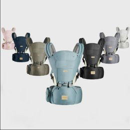 carrier front back Canada - 2020 Baby Multifunctional Safety Fashion Father Mother Front & Back Carry Outdoor Breathable Carrier Baby Backpack Waist Stool Slings