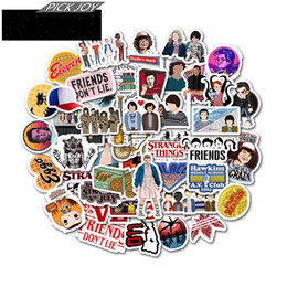 laptop cooling NZ - 50 PCS Stranger Things Season 3 Cartoon Stickers For Children On The Laptop Fridge Phone Skateboard Suitcase Funny Cool Sticker L