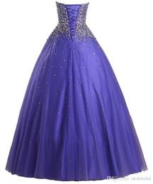 $enCountryForm.capitalKeyWord Australia - 2019 Vestido De Festa Longo Para Casamento Heavy Beaded Sweetheart Purple Tulle Ball Gown Prom Dresses Dress Evening Dress 001
