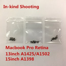 $enCountryForm.capitalKeyWord Australia - A1425 A1502 A1398 Bottom Back Screws for macbook pro Retina 13inch 15inch Universal Computer Case Cover screws 8long 2short 10pcs Set