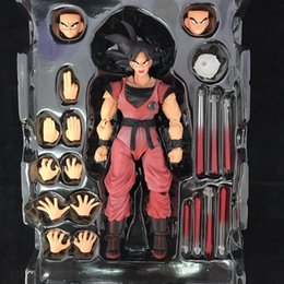 Goku Hot Toy Australia - NEW hot 16cm Dragon Ball Deluxe Edition Kakarotto Son Goku action figure toys Christmas gift toy with box
