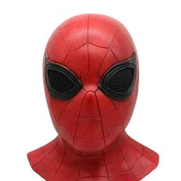 $enCountryForm.capitalKeyWord Australia - Latex SuperHero Mask Cosplay Hood Masks Crazy Masquerade Party Decorations Full Head Halloween Masks Animal Costumes