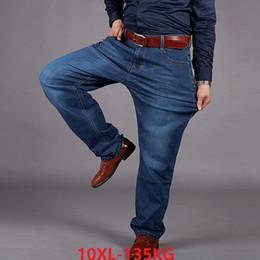 $enCountryForm.capitalKeyWord Australia - high waist men jeans large size big 10XL Trousers Elasticity straight 7XL 8XL 9XL loose jeans autumn winter Stretch office pant