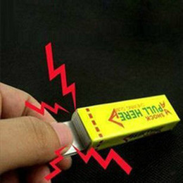 New toys low prices online shopping - New Interesting Toys Electric Shock Shocking Funny Pull Head Chewing Gum Gags Safety Trick Joke Toy Novelty Items Lowest Price