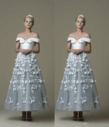 $enCountryForm.capitalKeyWord Australia - Princess 2019 Prom Dresses Off The Shoulder 3D Appliques Evening Gowns Quinceanera Vestidos Custom Made Bridal Guest Dress Custom Made
