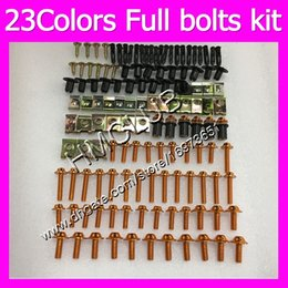 r1 fairing bolts Australia - Fairing screws Full bolts kit For YAMAHA YZFR1 07 08 09 YZF R1 YZF 1000 YZF1000 YZF-R1 2007 2008 2009 MC81 OEM Body Nuts bolt screw Nut kit
