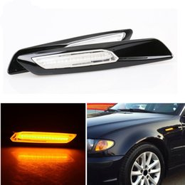 8ac8df036403 2PCS LED Fender Side Marker Light Turn signal light lamp for BMW E60 E61  E81 E82 E87 E88 E90 E91 E92 E93 Amber