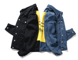 High Neck Motorcycle Jacket Fashion Australia - personality Yellow on the back Denim Jacket men high quality motorcycle Jeans Jackets fashion Slim fit casual Vintage Mens jean Coats outdoo