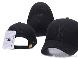Wholesale Luxury brand Designer hat NY pink baseball caps flat Snapbacks  adjusted Hip hop dance lovers hats for men and women Golf hat black e81fed51e8a1