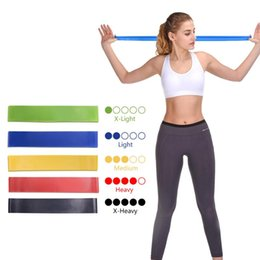 rubber resistance exercise band NZ - Resistance Bands Fitness Gum Sport Yoga Elastic Exercise Band Workout Expander Rubber Fitness Loop Gym Training Equipment