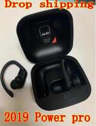 Wireless bluetooth neckband headphones sony ericsson online shopping - NEW W1 CHIP Power pro Earbuds wireless Bluetooth v5 pop up SIRI earphone headphones headphone earphones with LOGO NOT TWS PK xiaomi