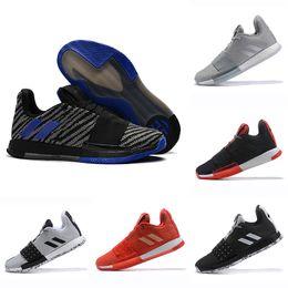 7fe2d0f1fef0 Newst Mens Harden Vol. 3 MVP Basketball Shoes men Weaving Sneakers Men Red  Grey Black James Harden 3s Outdoor Trainers Sports Sneakers 40-46