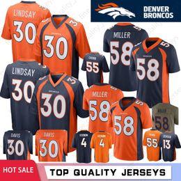 c967ee0f2a2 Denver broncos jersey manning online shopping - 30 Phillip Lindsay Terrell  Davis Denver Mens Von Miller