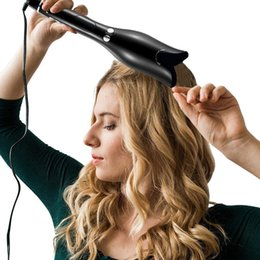 $enCountryForm.capitalKeyWord Australia - Rose-shaped Multi-function Lcd Curling Iron Professional Hair Curler Styling Tools Curlers Wand Waver Curl Automatic Curly Air SH190729