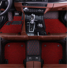$enCountryForm.capitalKeyWord NZ - custom car floor mats for Mercedes Benz GLK Class GLK250 GLK260 GLK300 GLK350 2008-2016 floor mats for cars DoubleLayer