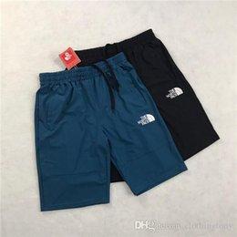 Vente en gros 19ss nouvelle arrivée paris le nord shorts visage pantalon taille élastique piste pantalons hommes sport casual jogger pantalons de survêtement shorts de plein air