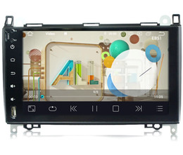 "Mobile Dvd Systems Australia - COIKA 9"" Android 9.0 System 4-Core 2+16G RAM Car DVD Auto Radio For Mercedes-benz B200 W169M W245 W639 A160 Sprinter GPS OBD DVR SWC"