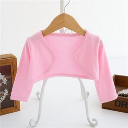 Shirt Poncho Australia - DHgate Spring And Autumn Candy Shawl Coat Long Sleeve Girl T-shirt Multicolored Shirts From Chinese Suppliers
