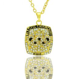 $enCountryForm.capitalKeyWord UK - Necklace NHL Toronto Maple Leafs Charm Pendant Ice Hockey Jewelry for Women Gifts Party Birthday Wholesale #2010