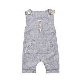 romper infant Australia - Newborn Infant Baby Girl Boy Clothes Romper Jumpsuit Bodysuit Outfits Overalls
