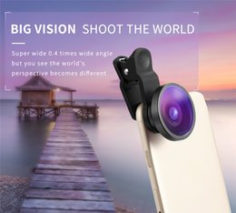 $enCountryForm.capitalKeyWord Australia - Portable Phone Camera Lens Wide Angle macro Selfie Cam Lens for iPhone 6P 7 7P 8 8P X Samsung S8 S9 S10 Samrtphone