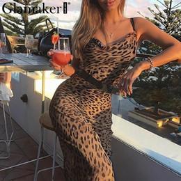 $enCountryForm.capitalKeyWord NZ - Glamaker Leopard print women maxi dress summer sexy beach vintage dress Female slim party long causal dress robe retro vestidos Y19042303
