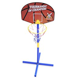 China Portable Children Basketball Stand Set Adjustable Indoor Outdoor Sport Toy Basketball Toy Gift Set Stand Ball Backboard Kit cheap toy kit cars suppliers