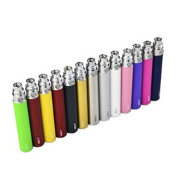 Tank Ego T Ce4 Australia - Newest Colorful EGO-T ego t EVOD Vape Battery For 510 Thread CE3 CE4 MT3 MINI Tank Vaporizer Clearomizer Atomizer High Quality DHL