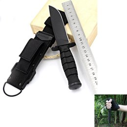 $enCountryForm.capitalKeyWord NZ - survival Camping Knife Self-defense Straight Knife Outdoor Survival Wilderness Survival Outdoor Portable Tactical Hunting Tool Accessories