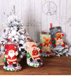 $enCountryForm.capitalKeyWord Australia - Creative Christmas gifts of High - Grade Cloth Art The Old Hang Christmas gift Bags Decoration stockings