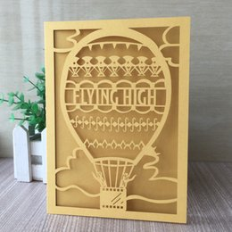 $enCountryForm.capitalKeyWord NZ - 25PCS  lot Flying High Decoration With Invitation Card Apply To Wedding Engagement Marriage Graduation Ceremony Gifts