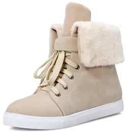 $enCountryForm.capitalKeyWord Australia - Sexy2019 Shoes Women's Baby Matting Circle Head Flat Bottom Search Edge Size Woman Boots 32-42 Code C5 - 1
