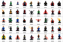 iron man block figure Canada - wholesale 600+ Building Blocks Super Hero Figures Captain Iron man Black widow ThanosToys The Avengers Toys Joker Toys Action Figure