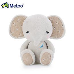 $enCountryForm.capitalKeyWord Australia - metoo 1pc Cartoon Metoo Doll Cute Stuffed Animal Plush Elephant Toy Kids Soft Toys Birthday Gift Wholesale Z141
