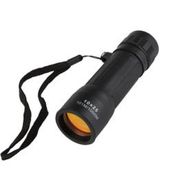 $enCountryForm.capitalKeyWord NZ - 10x25 Portable Mini Monocular Telescope HD Night Vision Eyepiece Lens Hiking Hunting Watching Camping Sports With Arming Strap