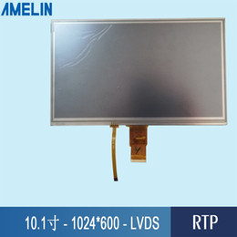 Tft Lcd Touch Screen Module Australia - 10.1 inch 1024*600 DS Interface TFT LCD Module display with HX8282A Driver IC and RTP resistive touch screen