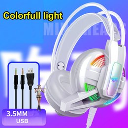 audiophile earphones Australia - New gaming headset Stereo earphones headset headphones with Microphone for PC Mobile Phone Game headset Internet cafe