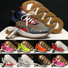 Design italian shoes online shopping - Luxury Cross Chainer Sneakers For Men Women Casual Shoes Design Italian Brand Black White Volt Outdoor Trainers Shoes Size