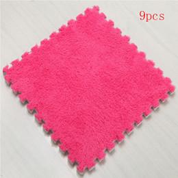 Eva foam floor carpEt online shopping - baby EVA Foam Play Mat Interlocking Exercise Tiles Floor Carpet Rug for Kid