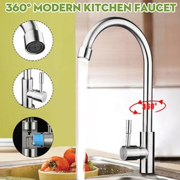 $enCountryForm.capitalKeyWord Australia - High Quality Stainless Steel Kitchen Sink Faucet Single Cold 360 Rotate Flexible Water Tap Basin for Home Kitchen Faucets