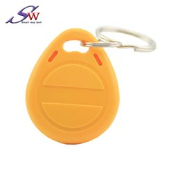 $enCountryForm.capitalKeyWord Australia - 100pcs lot RFID ABS Keychain Key Fob T5577 Chip 125Khz Access control Card for Home  Hotel