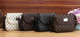 Cuoio di alta qualità del progettista borse di lusso borse delle signore delle donne Borse marca famosa Messenger Bag PU cuscino femminili Totes borsa a tracolla in Offerta