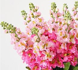 $enCountryForm.capitalKeyWord Australia - 6pcs Artificial Hyacinth Violet Silk Decorative Flower Flores For Home Wedding Decoration Fake Flowers Diy Crafts Wreath